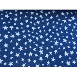 Softshell denim étoiles