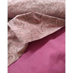 Softshell reflechissant Pondero pink