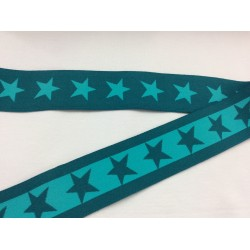 Elastic band petrol with stars