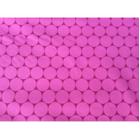 Pinker Softshell mit Kreisen