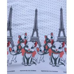 Cats with Eiffelturm