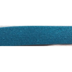 Elastic band Glitter blue