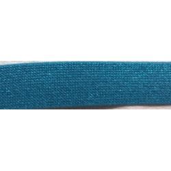 Gummiband Glitzer blau