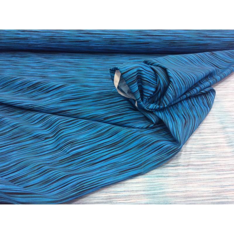 De Tissu Bleu Noir Maillot Bain qzMVpUSG
