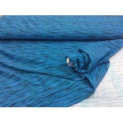 Blau schwarz - Badeanzugstoff