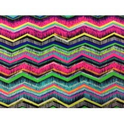Zigzags multicolores - tissu Maillot de bain
