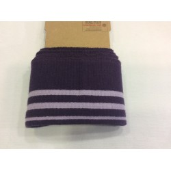 Cuff me stripes violet
