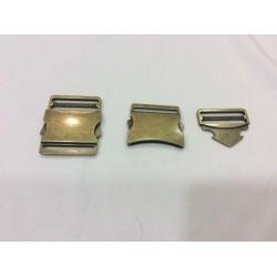 Fermeture 40mm métalisé