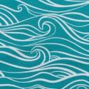 Waves by Käselotti wasserblau