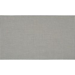 Vichy grey 2mm Cotton