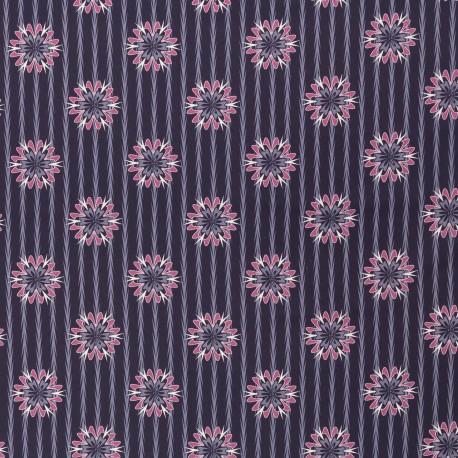 Kim Flowers, Stripes dark blue