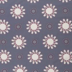 Kim Big Blossoms grey