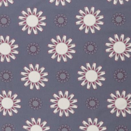 Kim Grosse Blüten grau