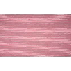 White stripes on old pink