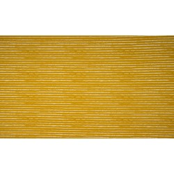 White stripes on ochre