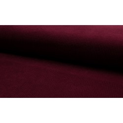 Velour stretch bordeaux