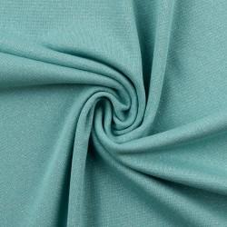 Bord-côtes brillant bleu turquoise
