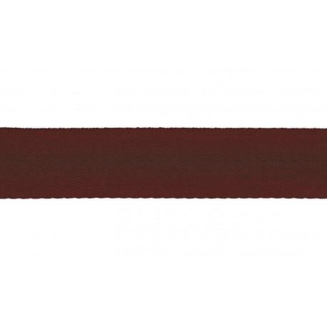 Sangle doux 40mm bordeaux