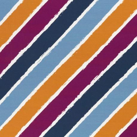 Sommersweat Diagonally bunt by lycklig design