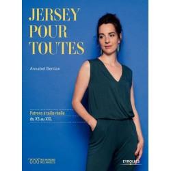 """Livre """"Jersey pour toutes"""""""