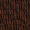 Silas rost und schwarz Viskoseleinen