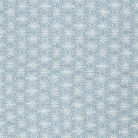 Puristic Flowers blue by lycklig design