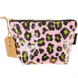 Cosmetic pouch small Acid Leo, pink