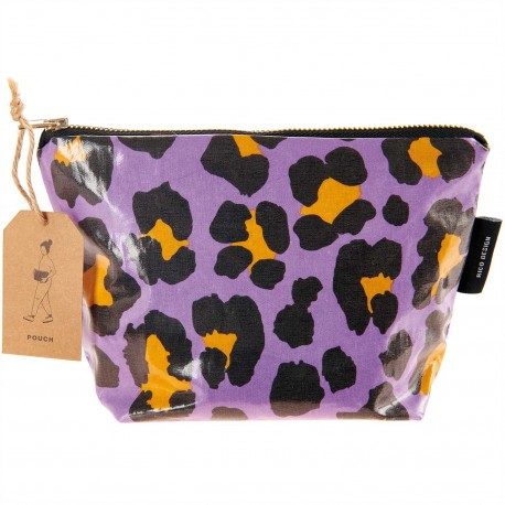 Cosmetic pouch small Acid Leo, purple
