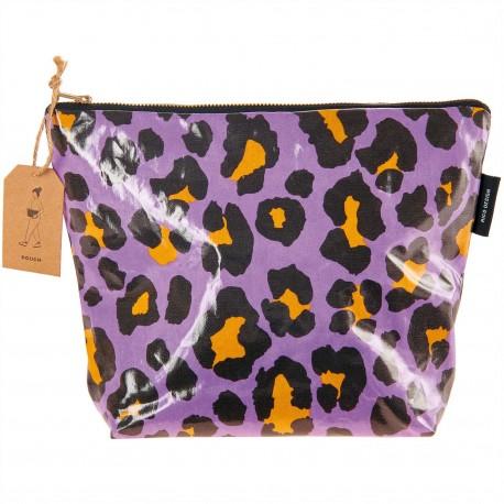 Cosmetic pouch big Acid Leo, purple
