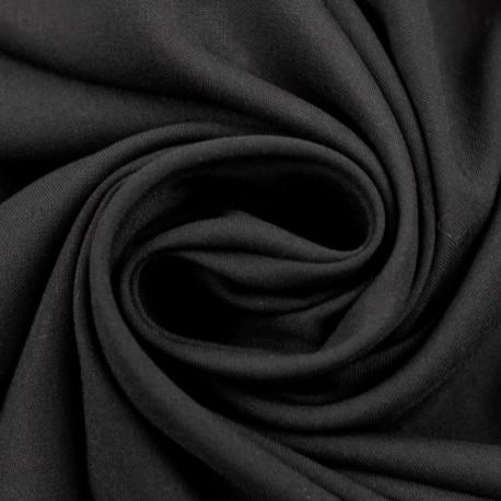 Viskose uni schwarz