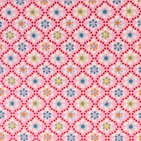 Julia Kleine Blumen auf rosa