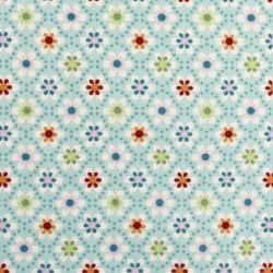 Julia Little flowers on blue