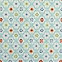 Julia Kleine Blumen auf blau