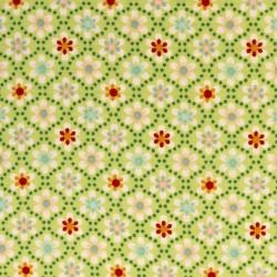 Julia Little flowers on green