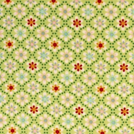 Julia Petites Fleurs sur vert