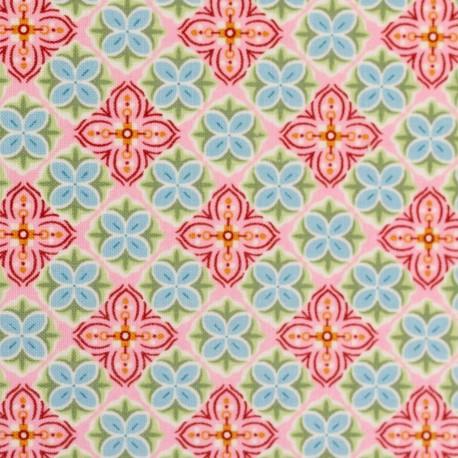 Julia Mandala on pink