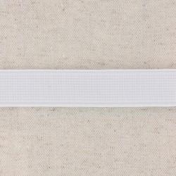 White Elastic 20mm