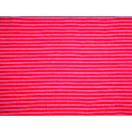 rosa-rote Streifen