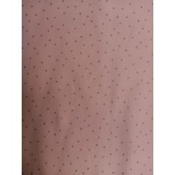 Pink dots hot foil on rose