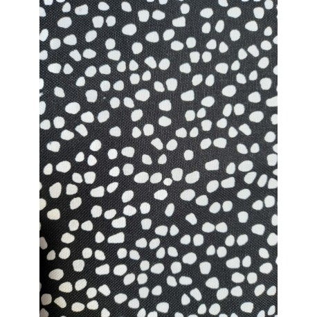 Shapes black and white Canvas