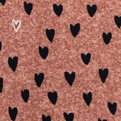 Sweet hearts burgundy Summersweat