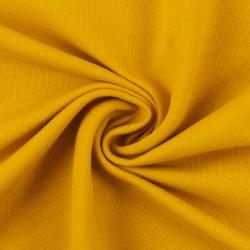French Terry uni jaune doré