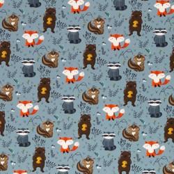 Forest animals by Christiane Zielinski