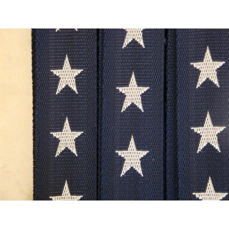 Gurtband Sterne blue